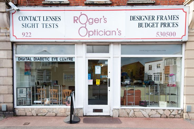 Roger's Opticians Storefront