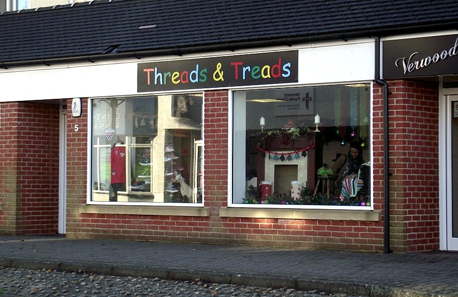 Threads and Treads Storefront
