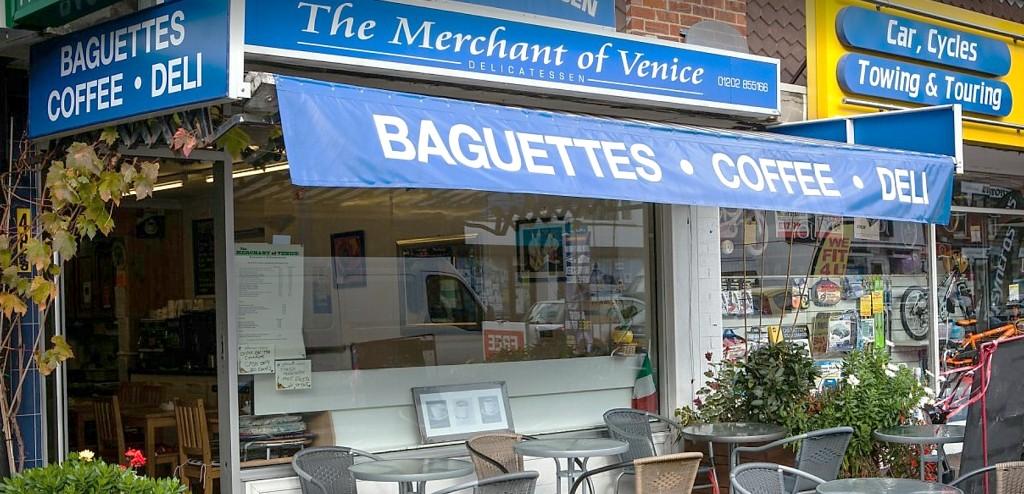 The Merchant of Venice Shop Front