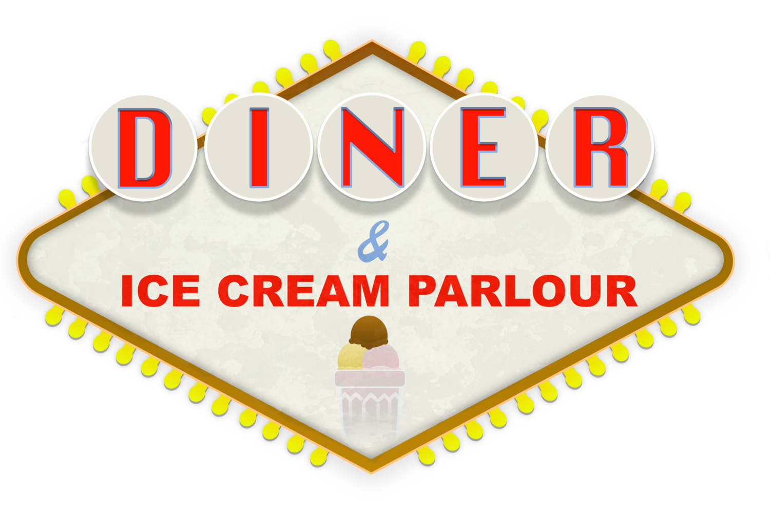 Ringwood Diner and Ice Cream Parlour Logo