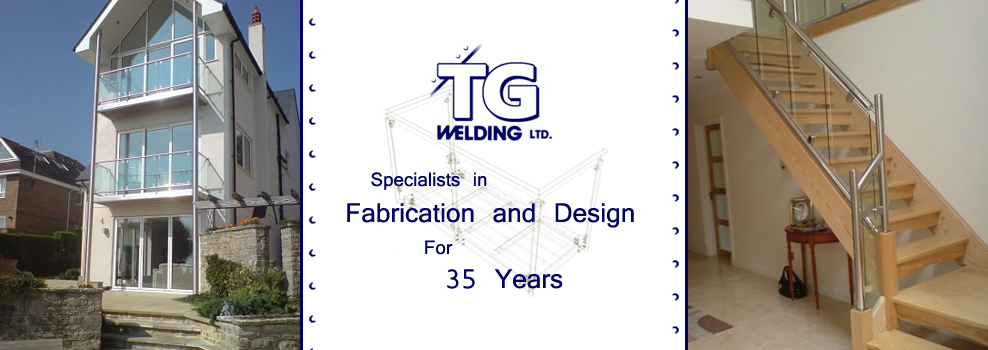 TG Welding, Logo and Examples of Work