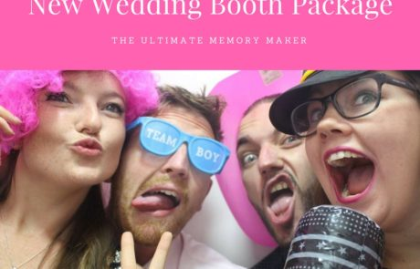 Wedding photo booth advert