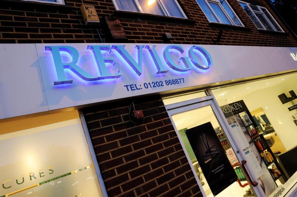 Revigo in Ferndown - Shopfront