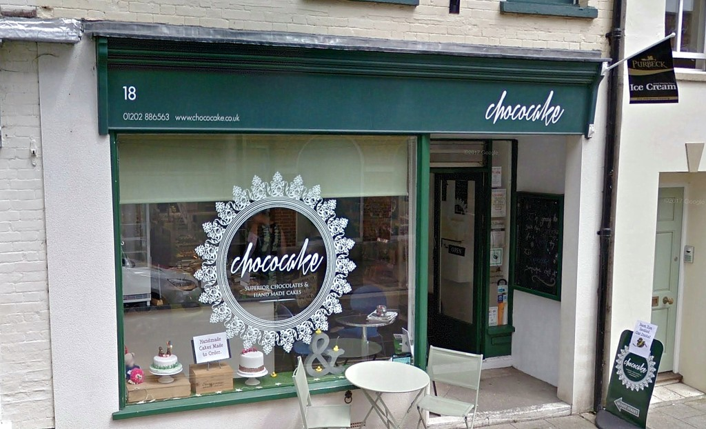 Chococake Store Front