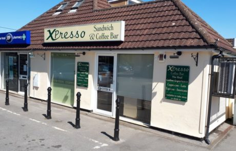 Shop front of Xpresso Bar Sandwich Shop