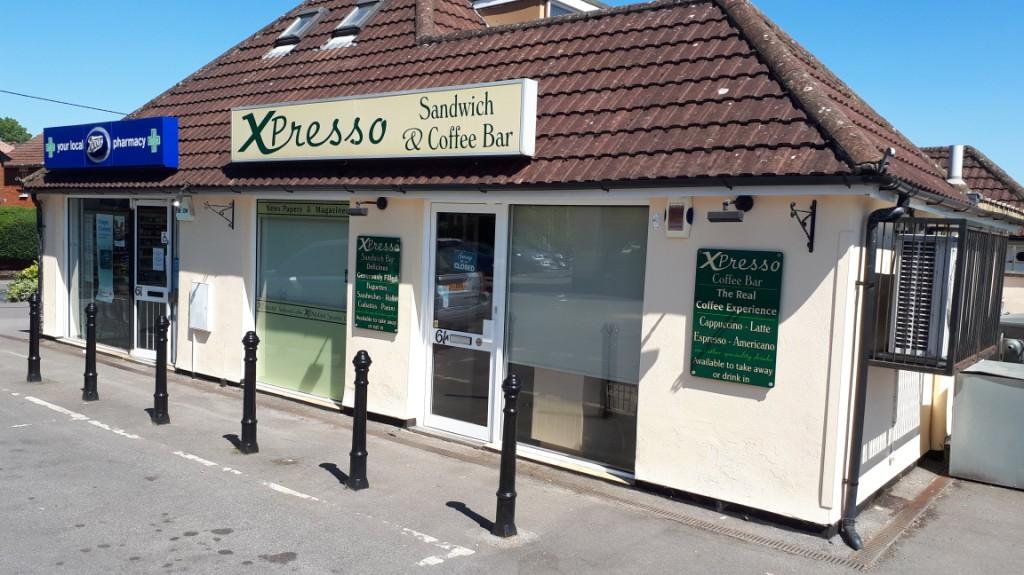 Shop front of Xpresso Bar Sandwich Shop