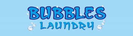 Bubbles Laundry Logo
