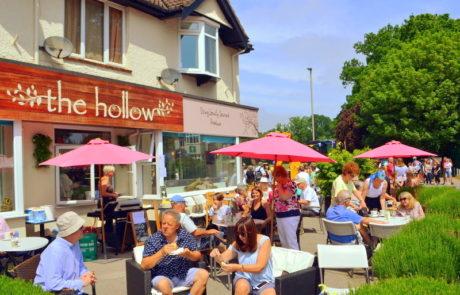 The Hollow Cafe exterior